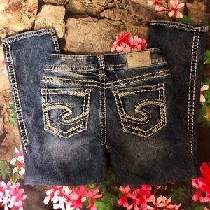Silver Jeans Capris